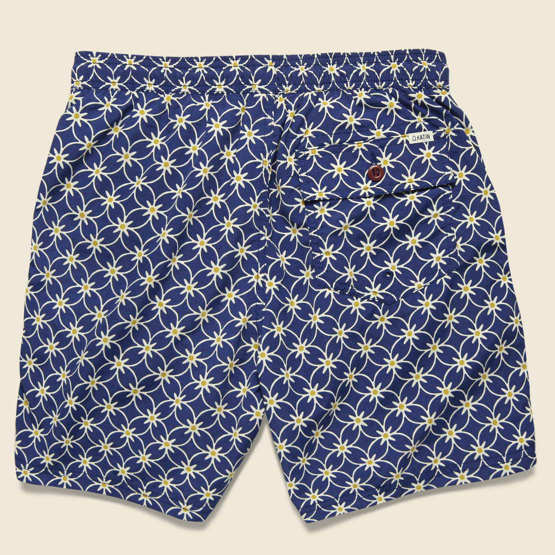 Plaza Valley Swim Trunk - Spanish Blue