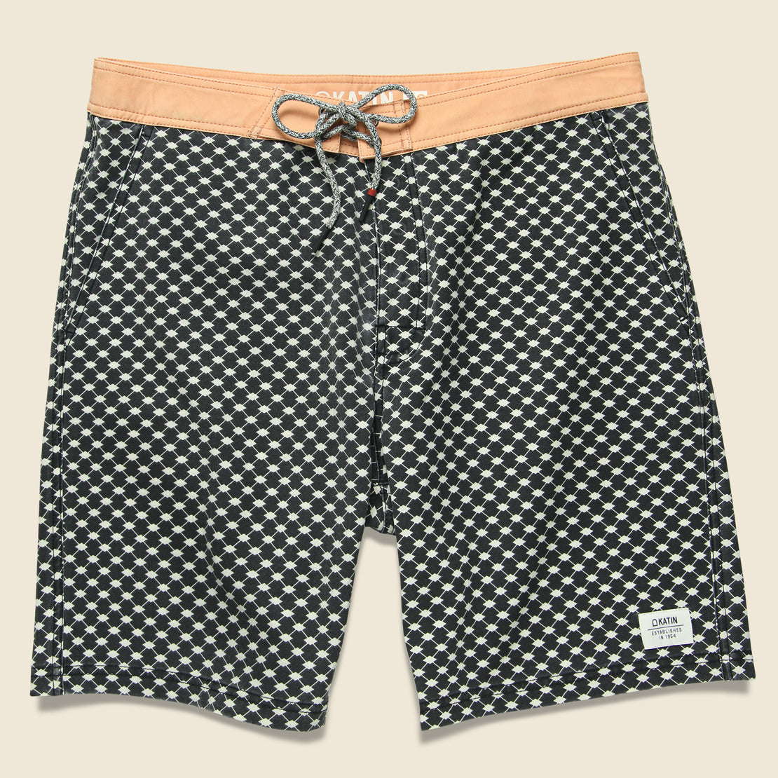 Katin Fes Boardshort - Black Wash