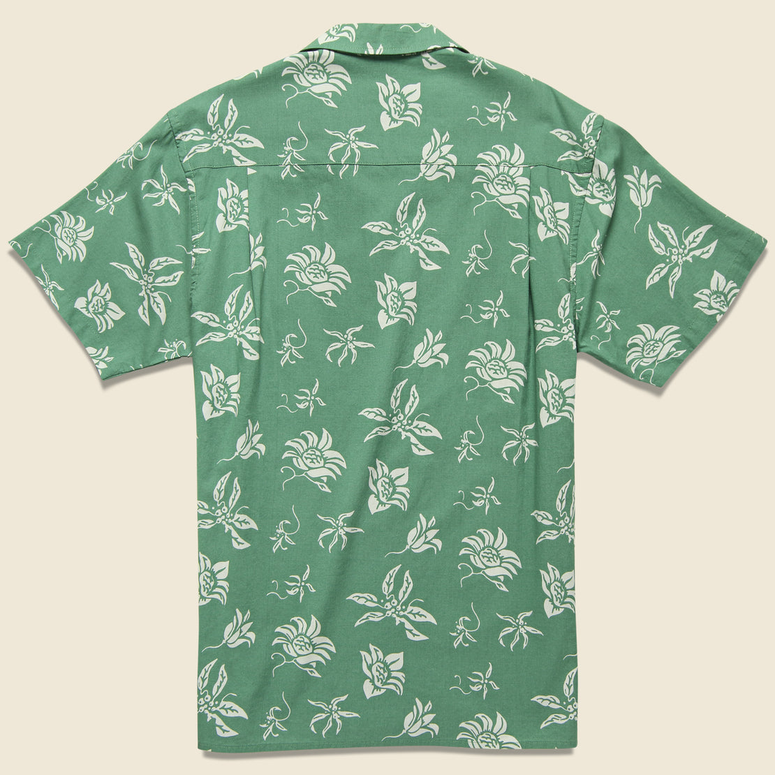 Haiku Aloha Camp Shirt - Herb