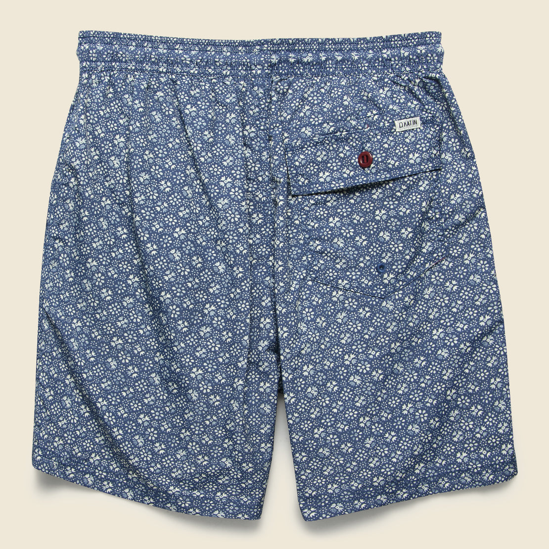 Walter Swim Trunk - New Navy