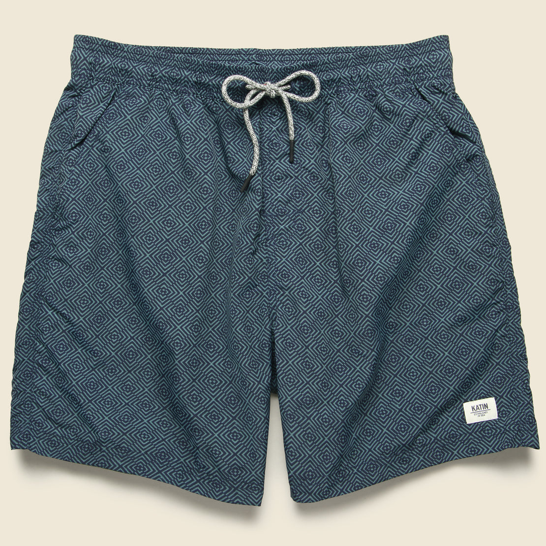 Katin Reverb Volley Swim Trunk - Baltic Blue