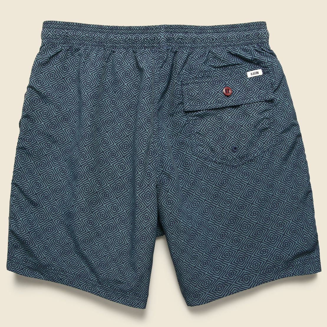 Reverb Volley Swim Trunk - Baltic Blue