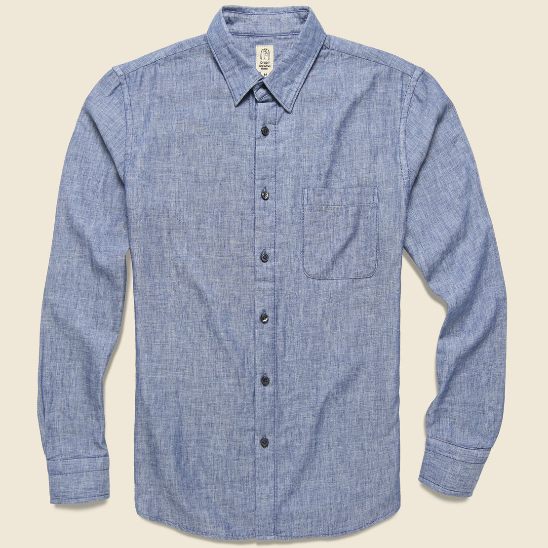 KATO Vintage Double Gauze Shirt - Light Indigo