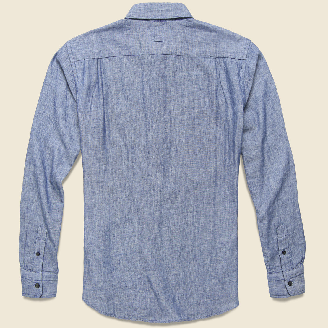 Vintage Double Gauze Shirt - Light Indigo