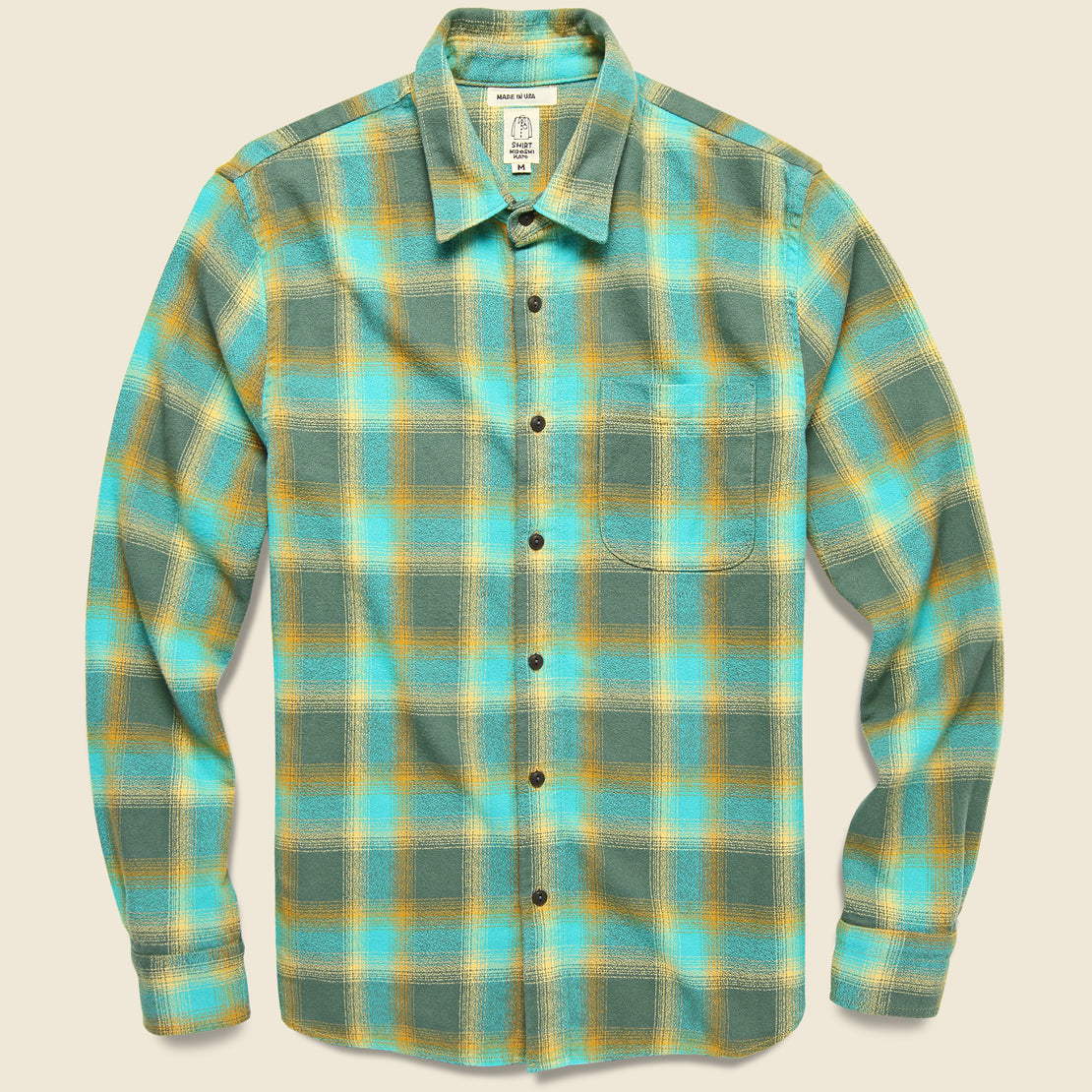 KATO Ripper Flannel - Green Vintage Plaid