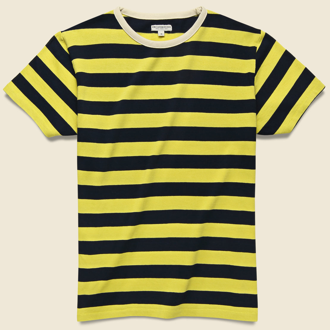 Knickerbocker Mojave Striped Tee - Yellow/Blue