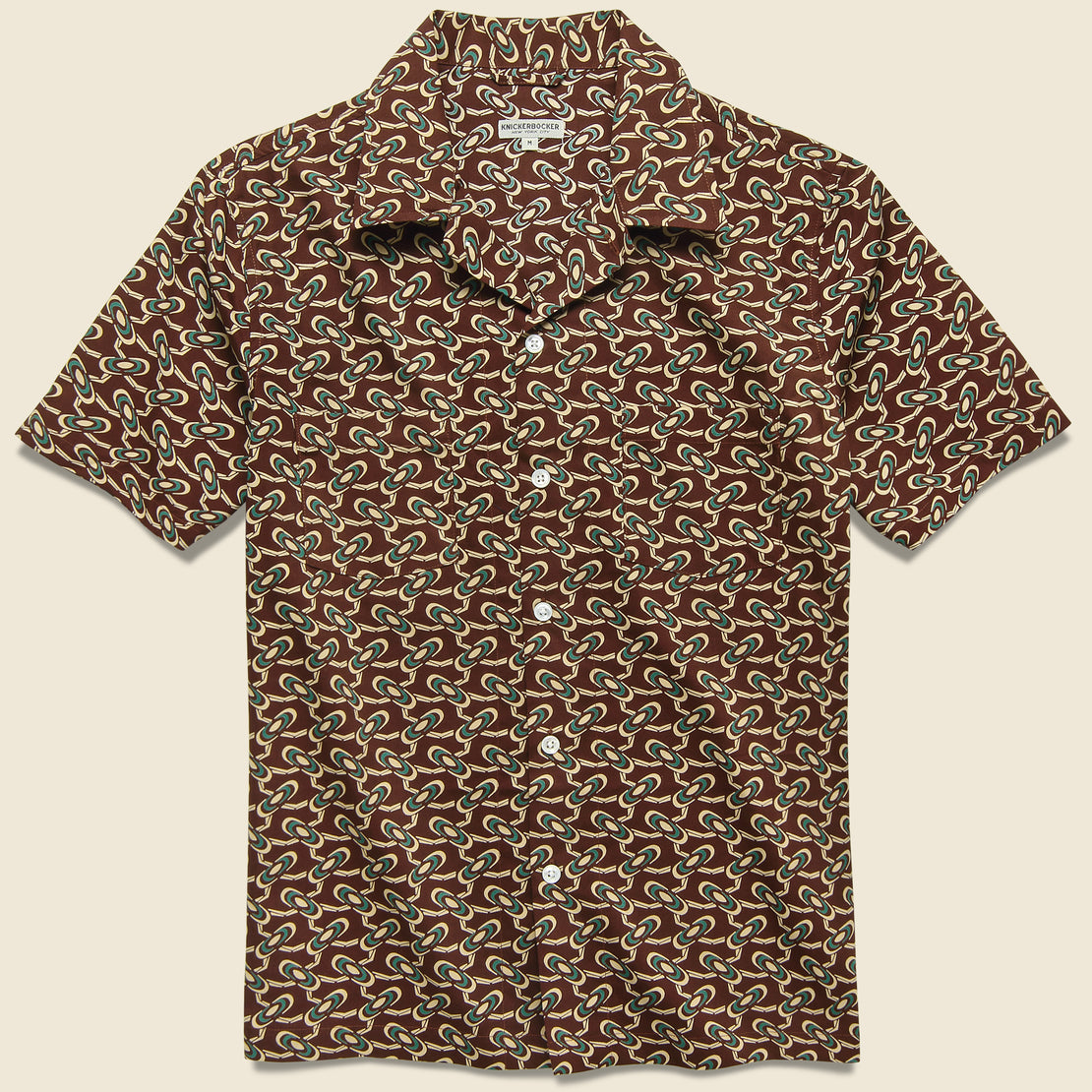 Knickerbocker Comma Camp Shirt - Tripper Rust