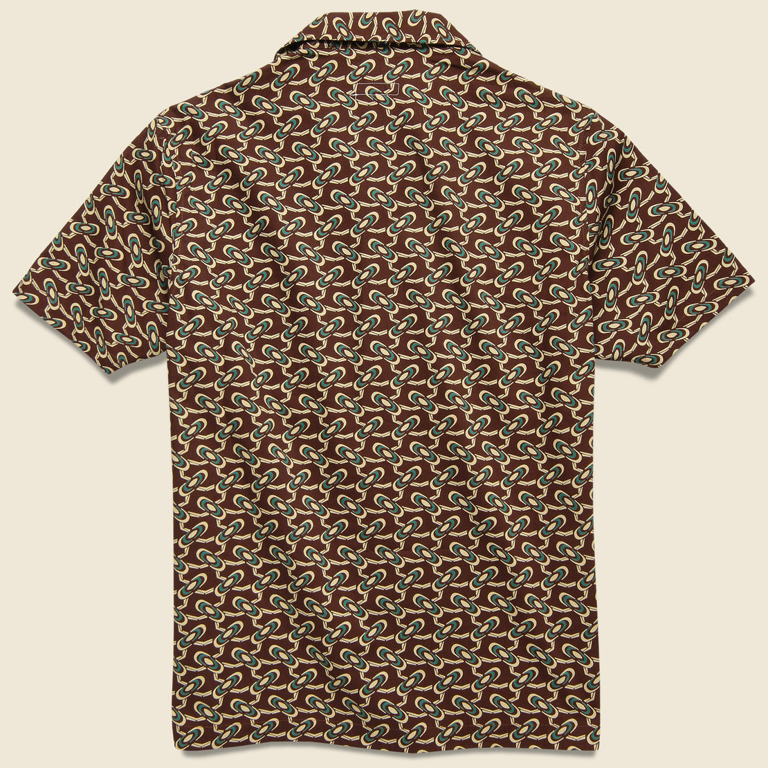 Comma Camp Shirt - Tripper Rust