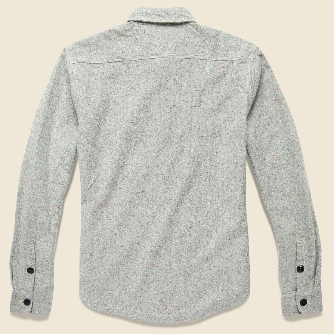 Speckle Overshirt - Grey