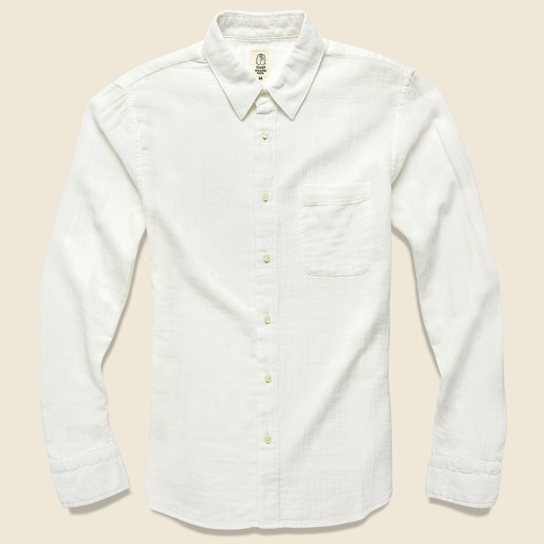 KATO Vintage Double Gauze Shirt - White
