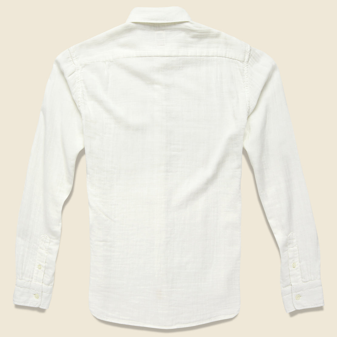 Vintage Double Gauze Shirt - White