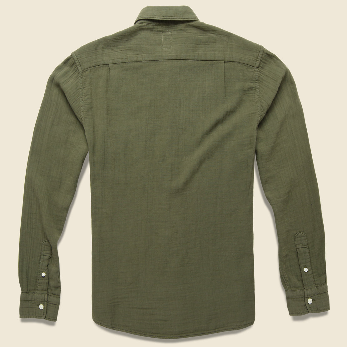 Vintage Double Gauze Shirt - Military Green