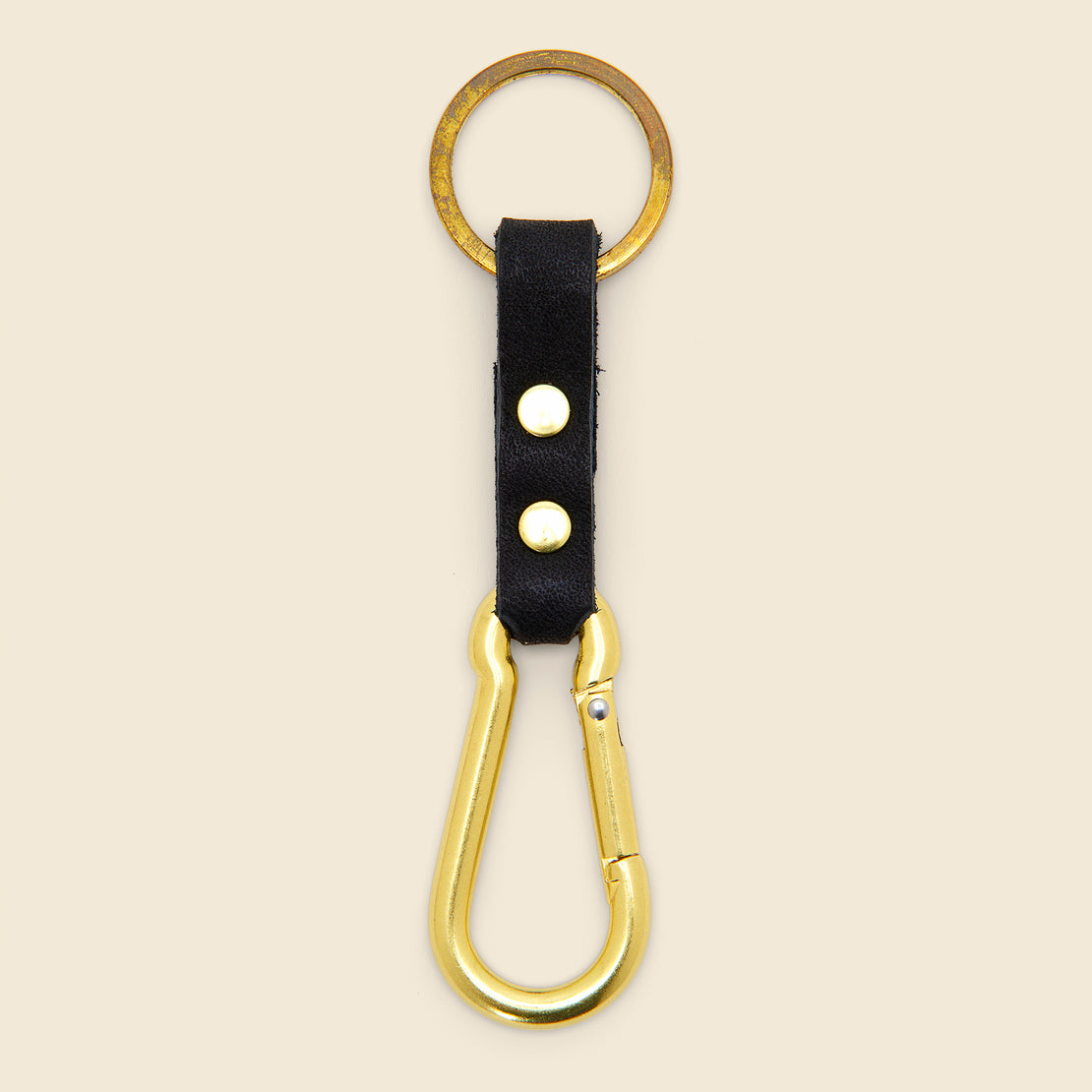 Son of a Sailor Carabiner Key Chain - Navy