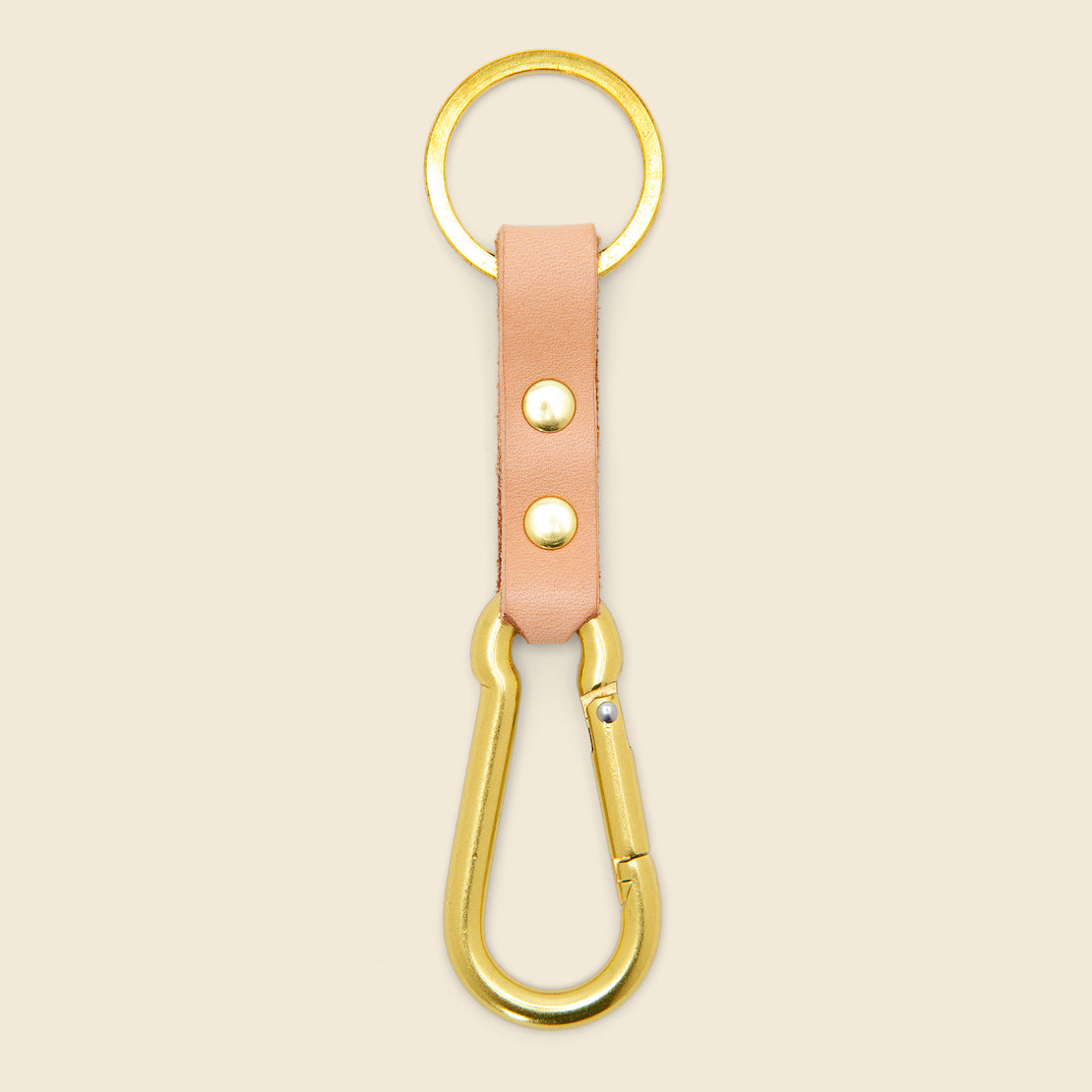 Son of a Sailor Carabiner Key Chain - Natural