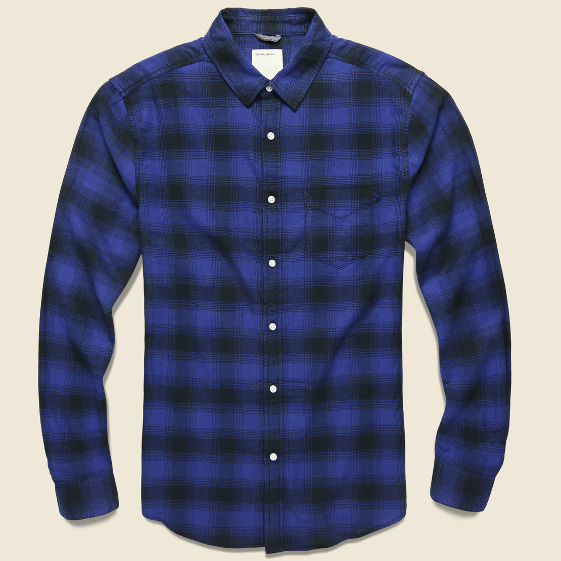 Life After Denim Lumberjack Flannel - Blue Jay
