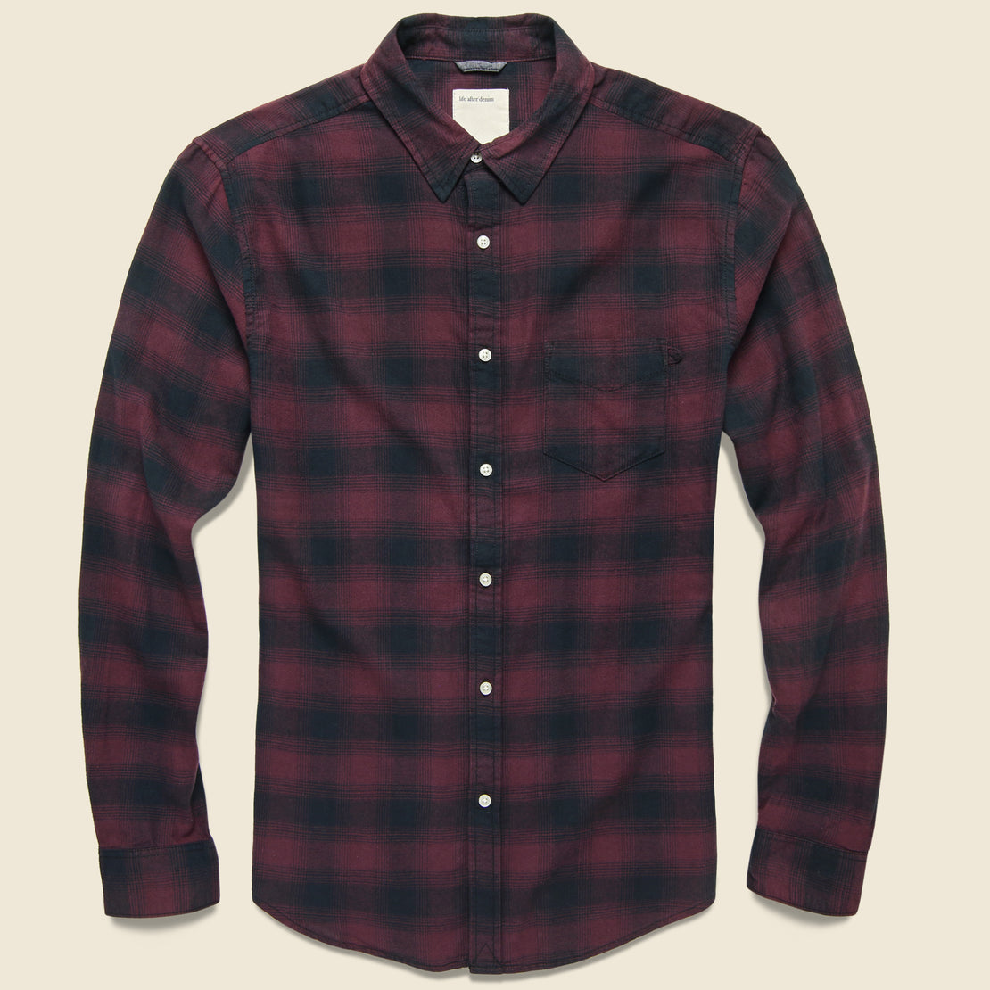 Life After Denim Lumberjack Flannel - Little Burgundy