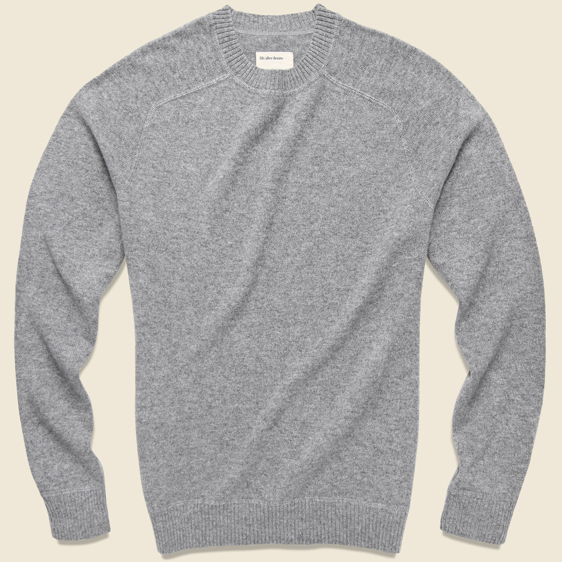 Life After Denim Columbia Cashmere Sweater - Heather Grey