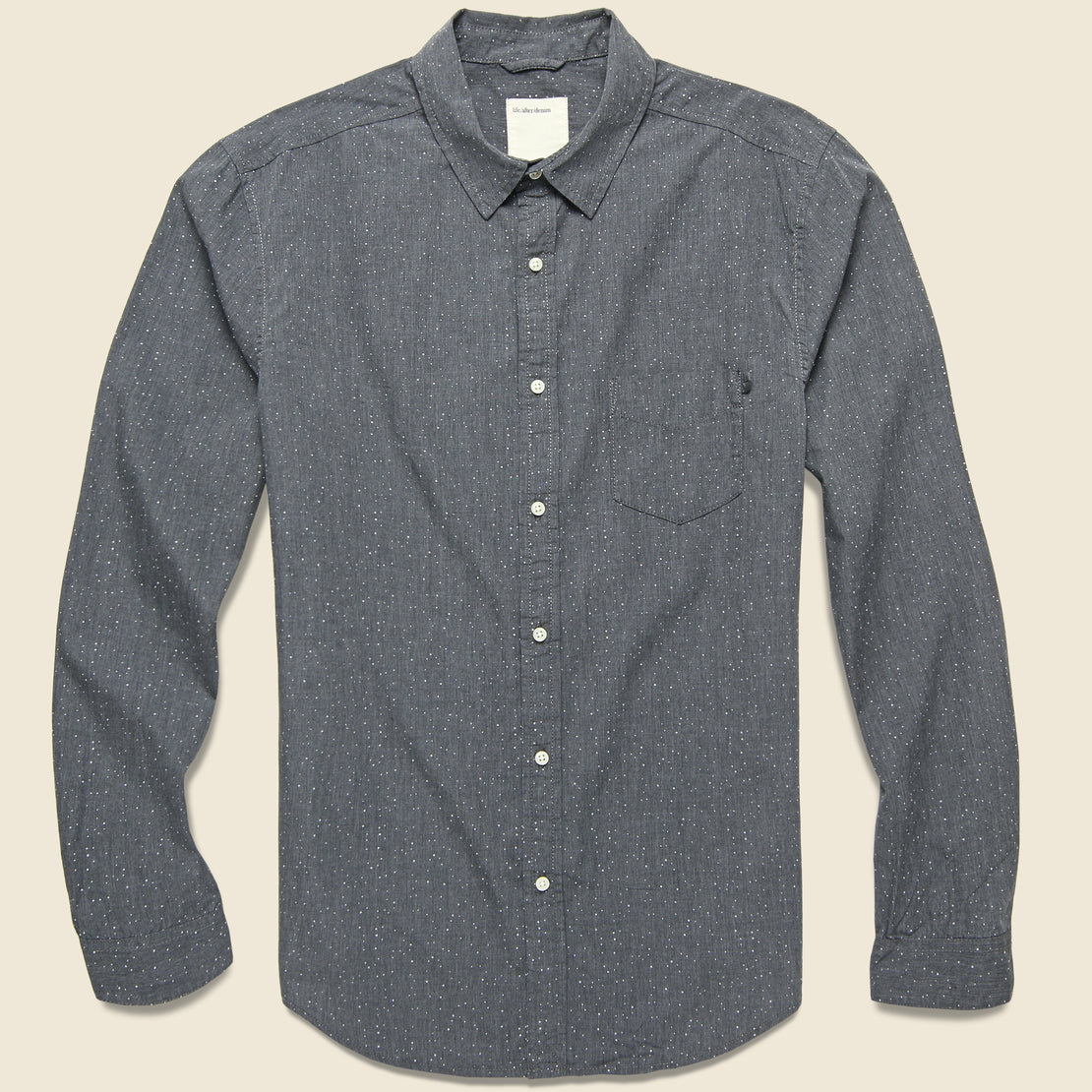 Life After Denim Cosmic Shirt - Heather Charcoal
