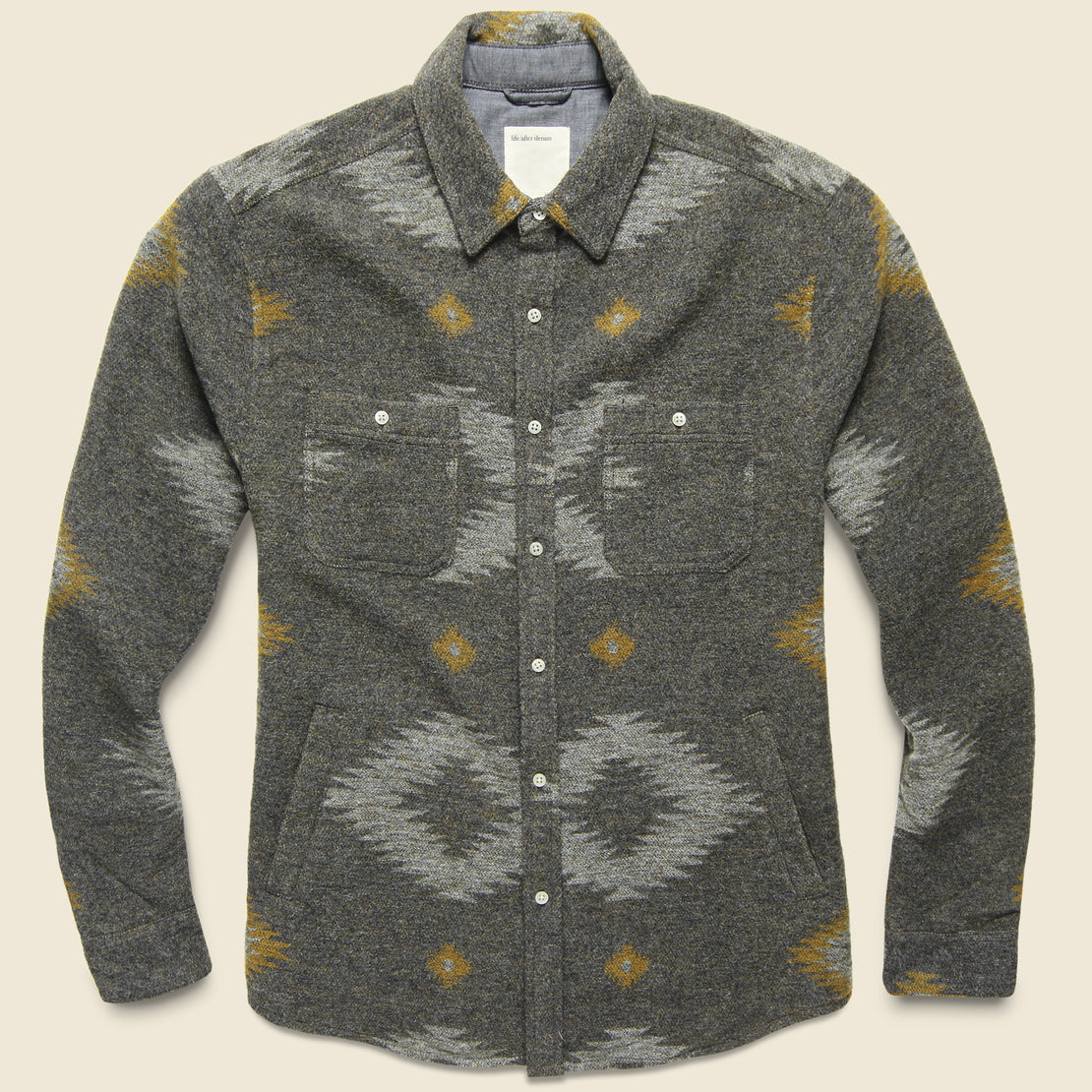 Life After Denim Warrior Shirt Jacket - Heather Charcoal