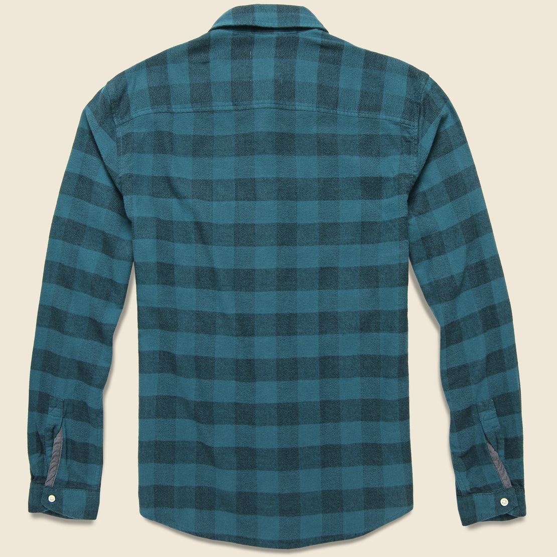 Allegheny Plaid Flannel - Comet Teal
