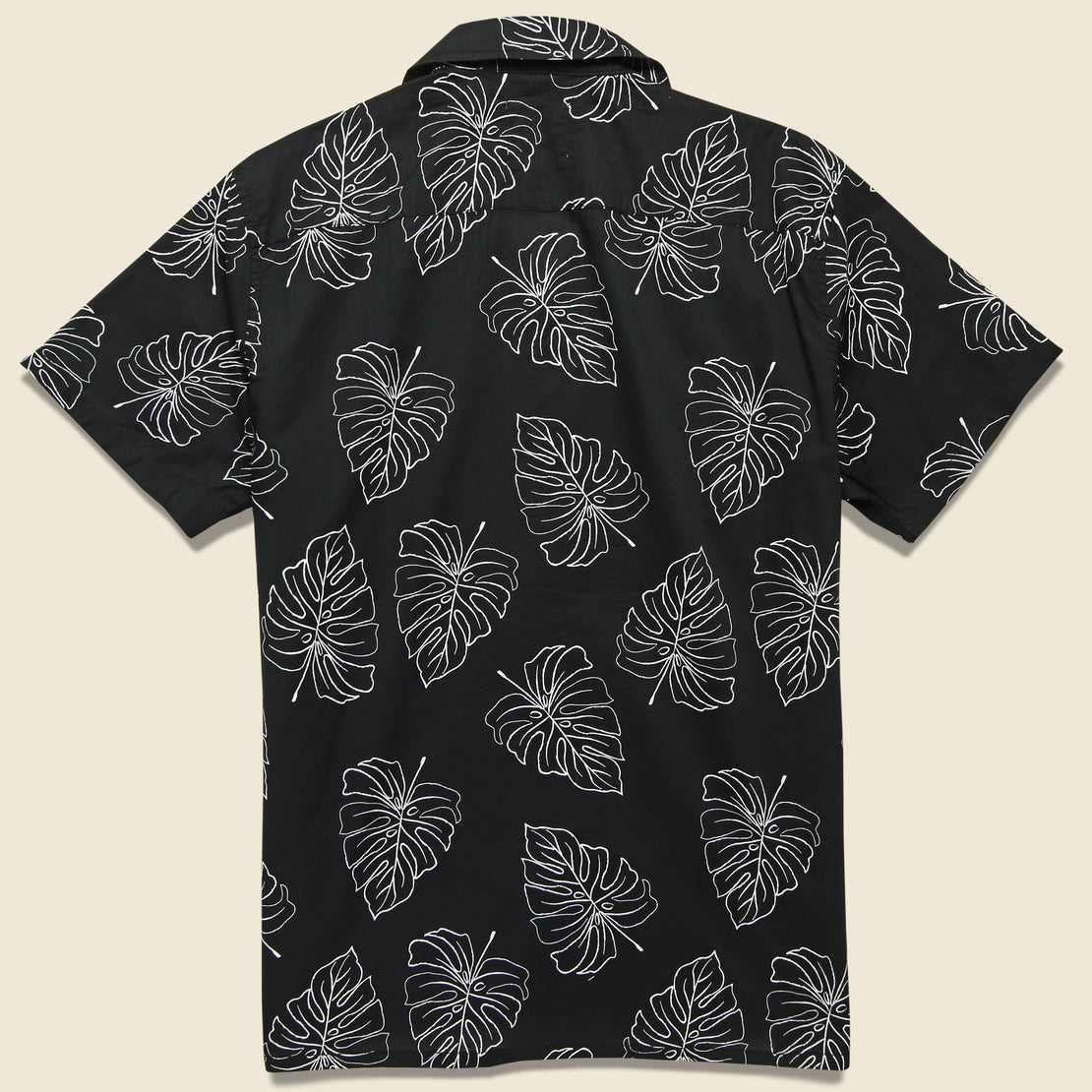 Monstera Leaf Shirt - Black
