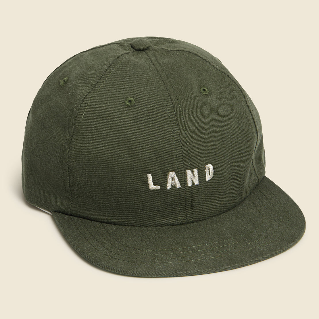 House of LAND LAND Cap - Olive
