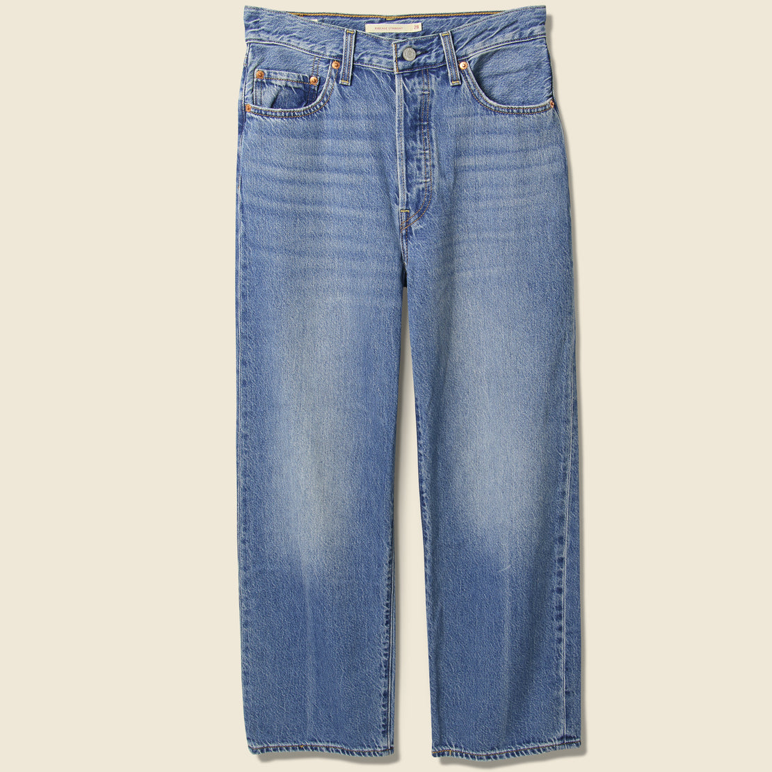 Levis Premium Ribcage Straight Ankle Jean - At The Ready