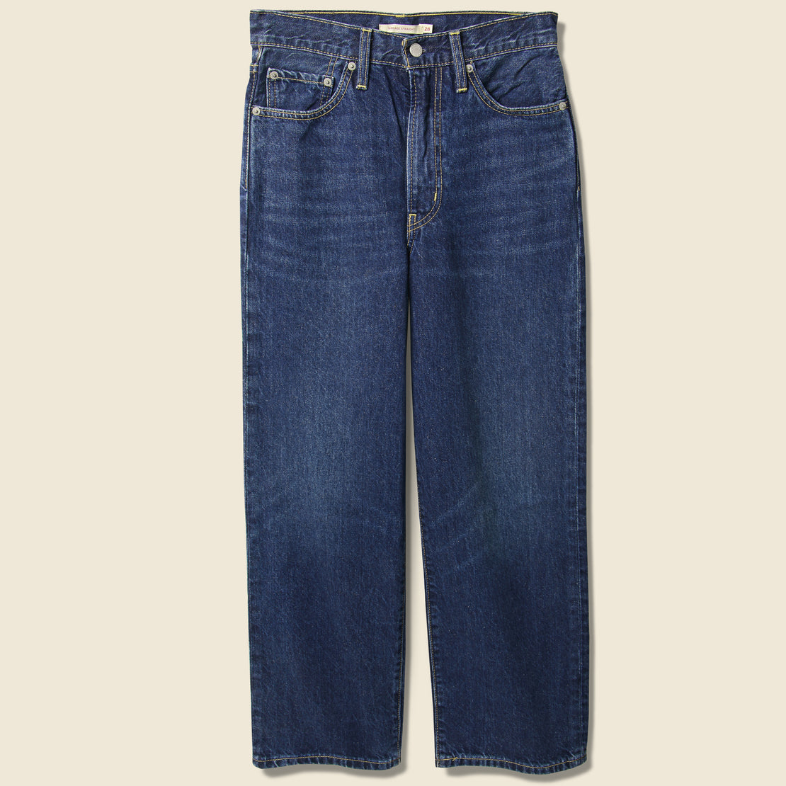 Levis Premium Ribcage Straight Ankle Jean - Ground Swell