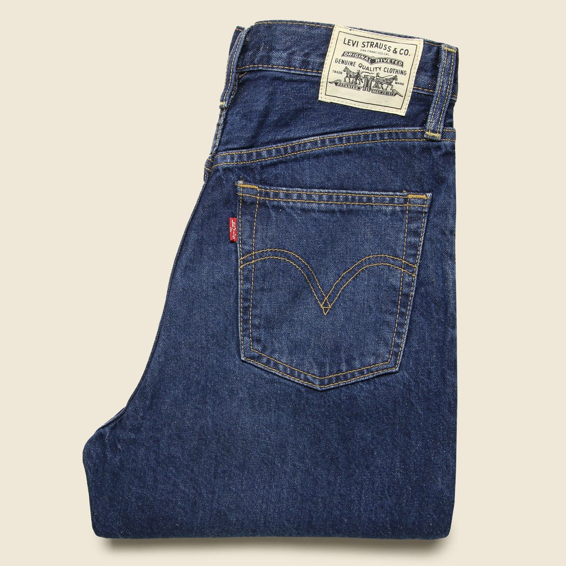 Ribcage Straight Ankle Jean - Ground Swell