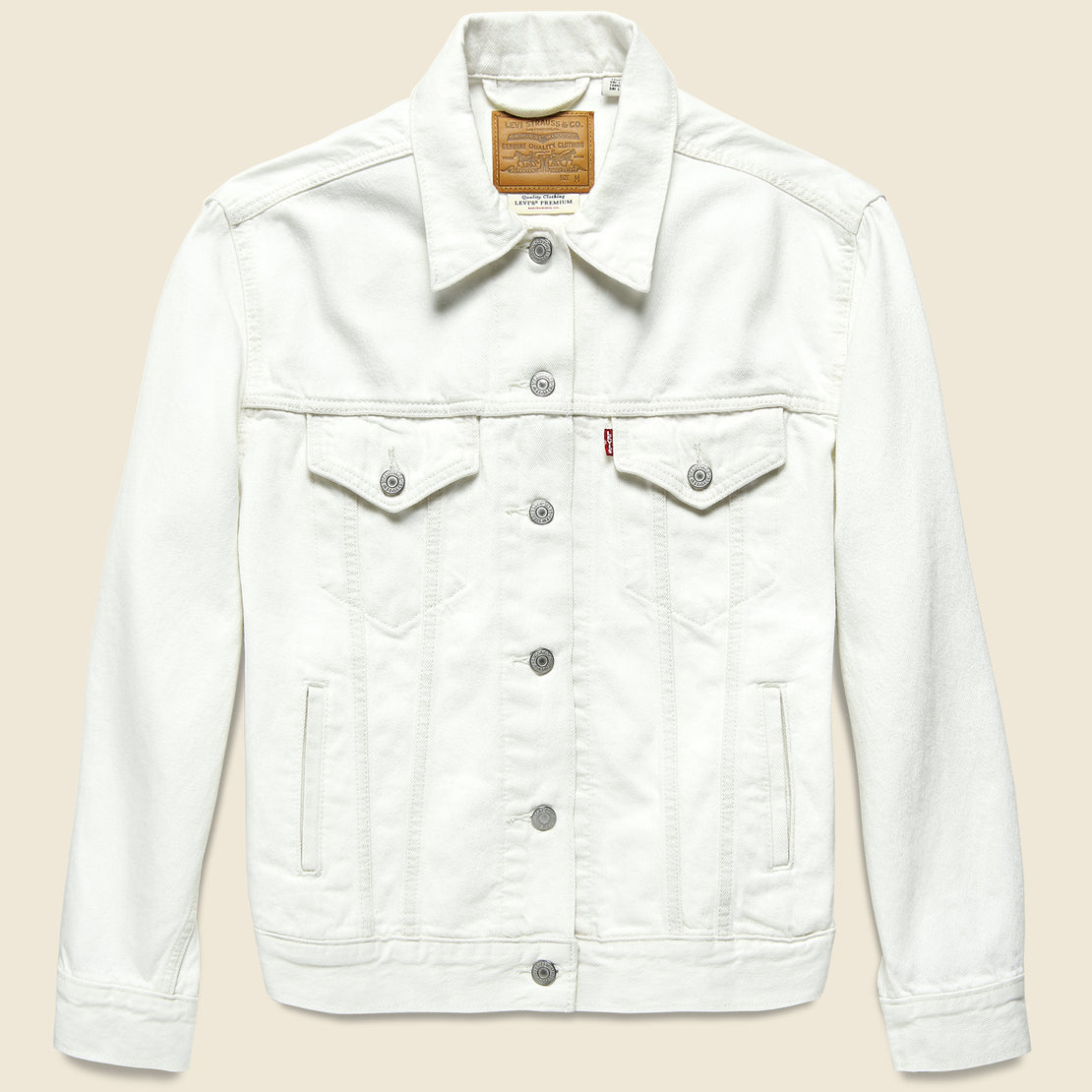 Levis Premium Ex-Boyfriend Trucker Jacket - Clean Sweep