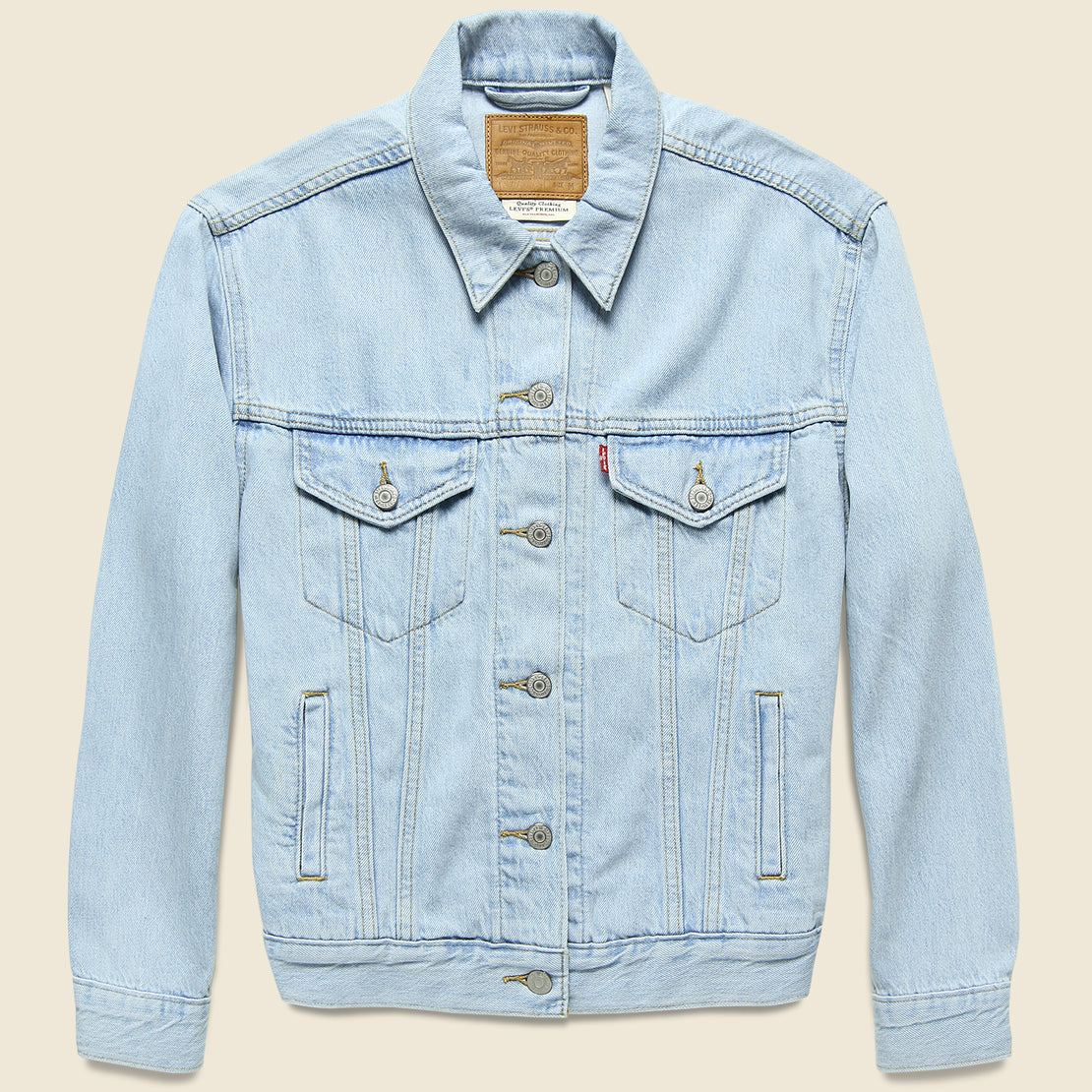 Levis Premium Ex-Boyfriend Trucker Jacket - Soft As Butter