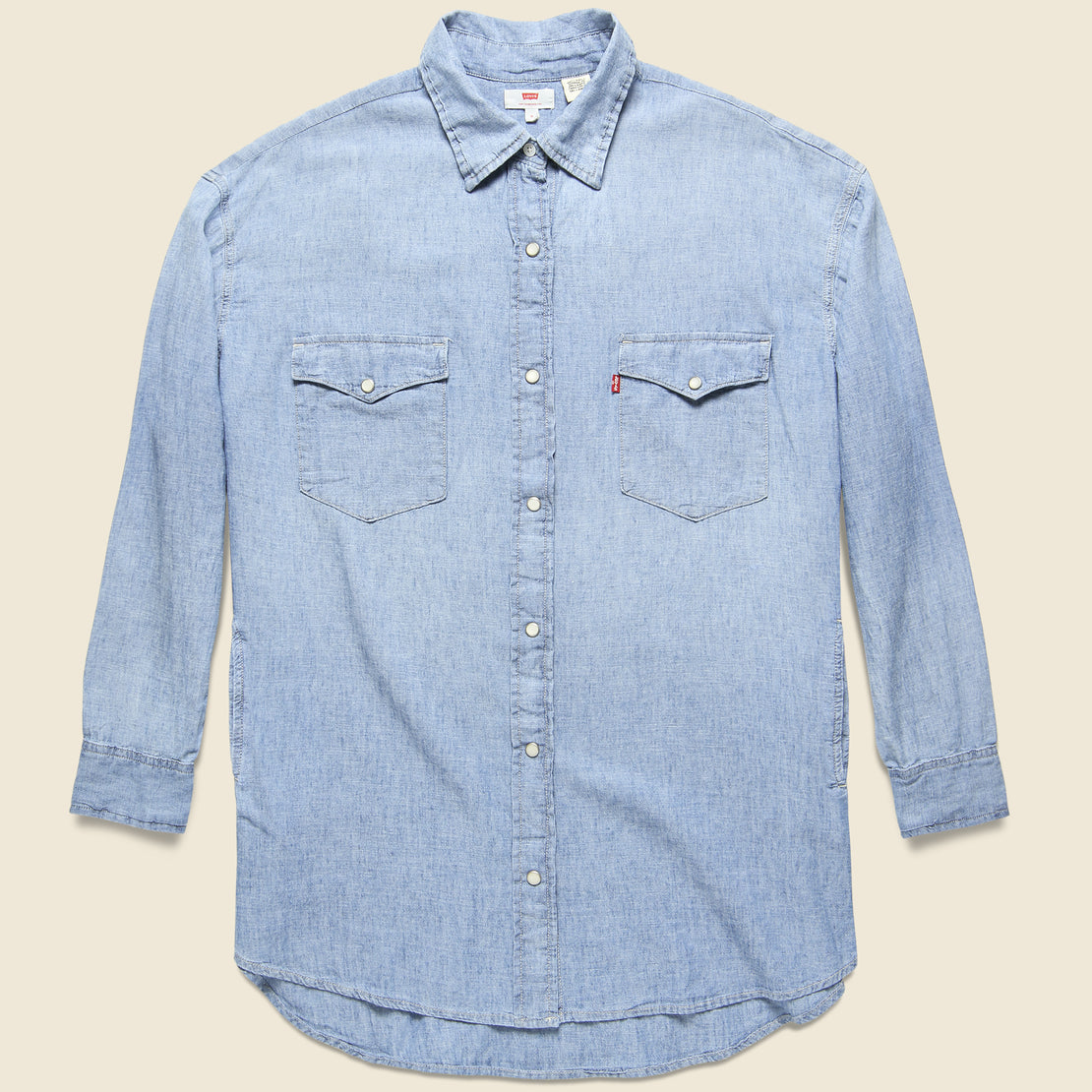 Levis Premium Cotton/Linen Shirt - Crystal Ball