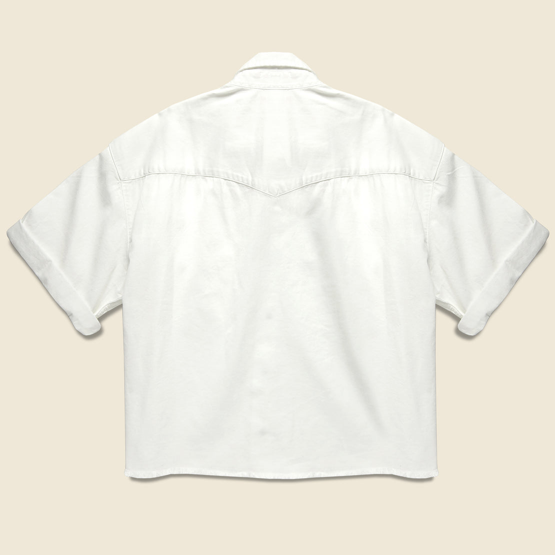Sunny Western Shirt - Bright White