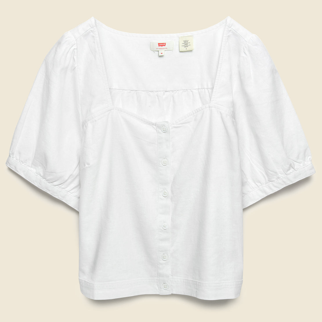 Levis Premium Simone Top - Bright White