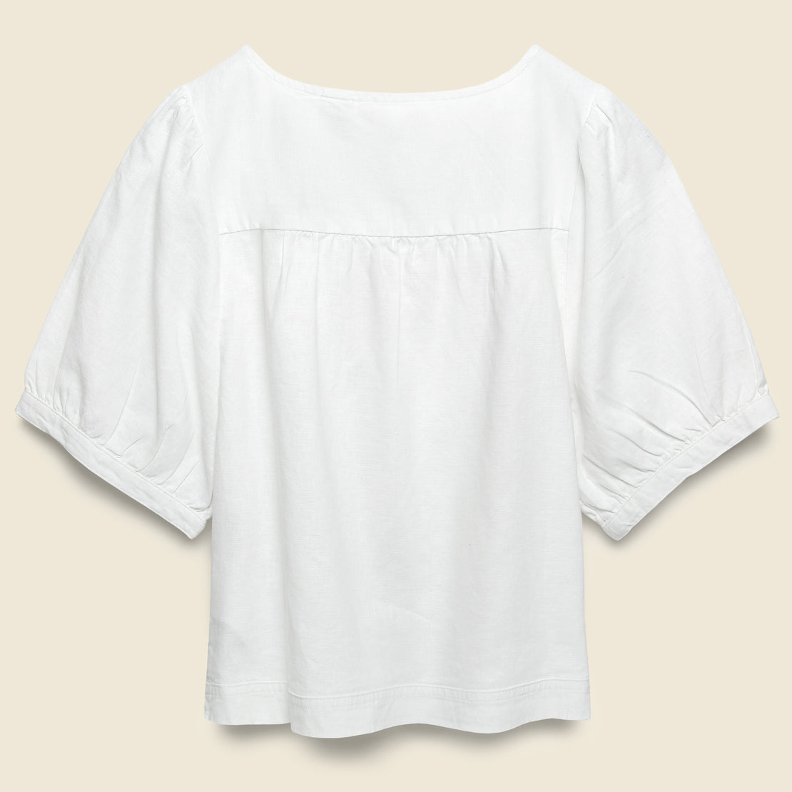 Simone Top - Bright White