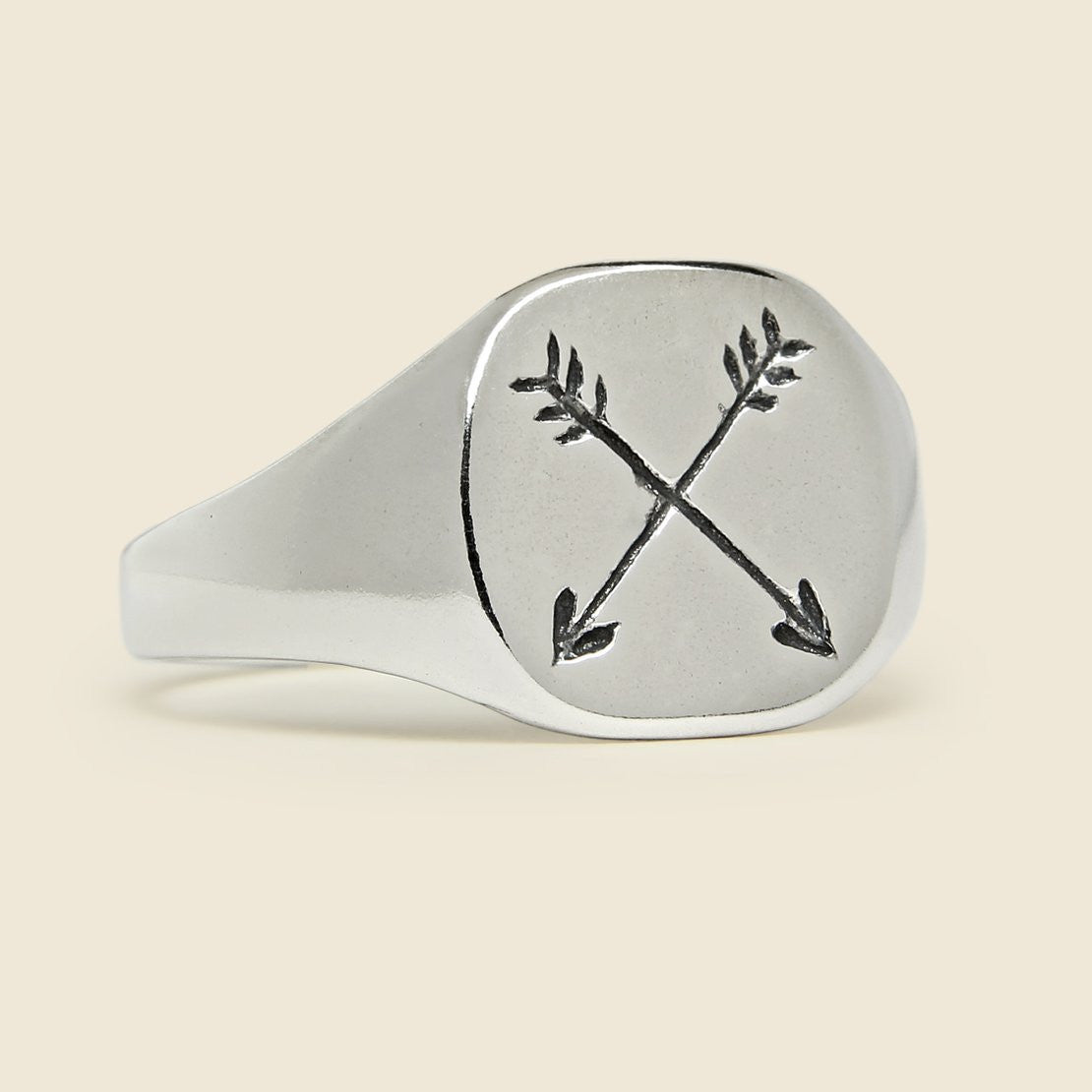 LHN Jewelry Arrow Ring - Sterling Silver