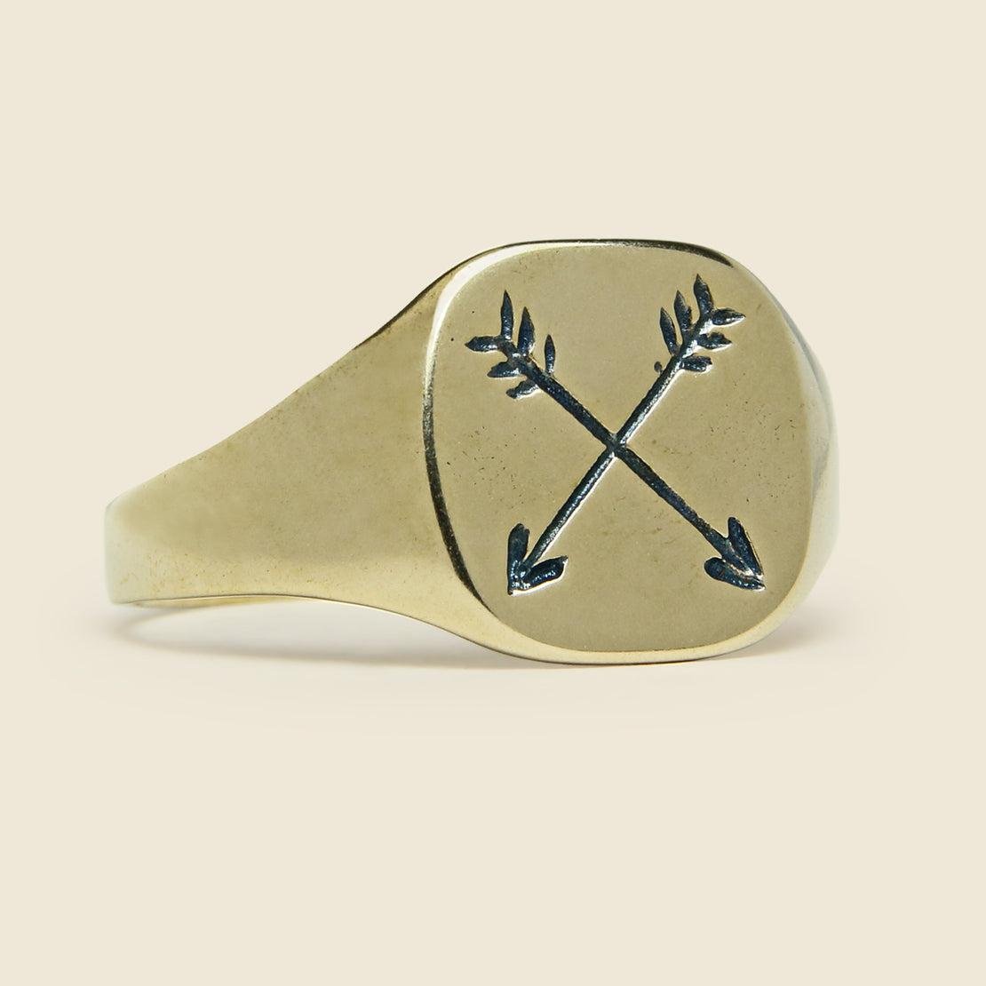 LHN Jewelry Arrow Ring - Brass