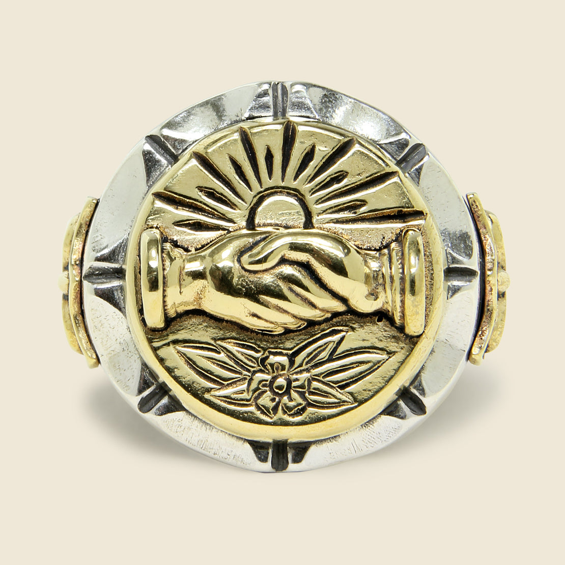 Fellowship Souvenir Ring - Silver/Brass