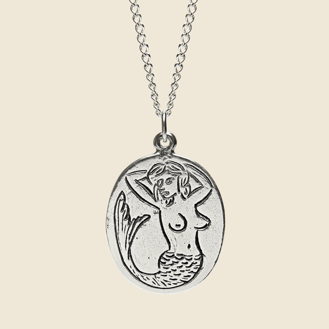 LHN Jewelry Mermaid Necklace - Sterling Silver