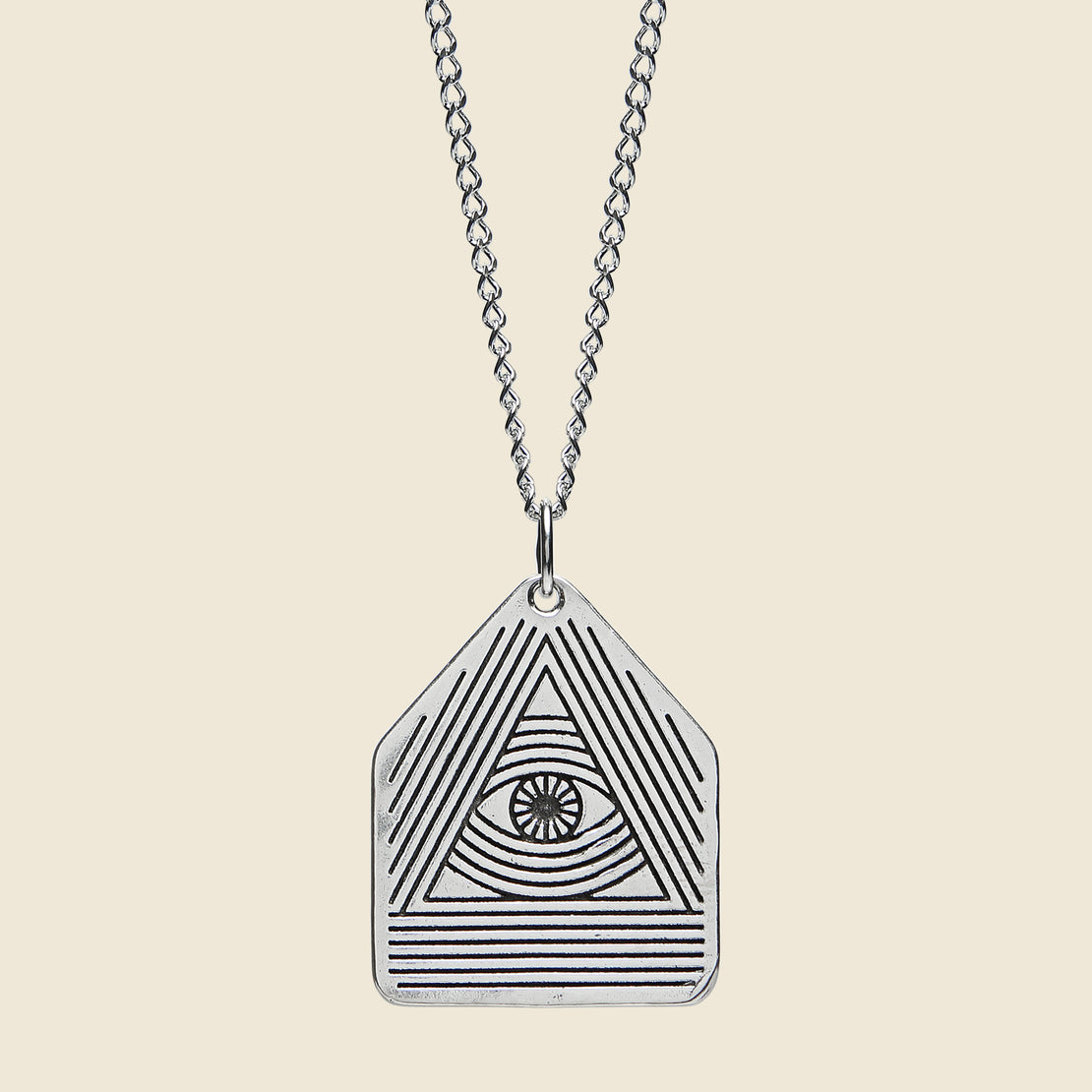 All seeing eye pendant silver mozeypictures Images