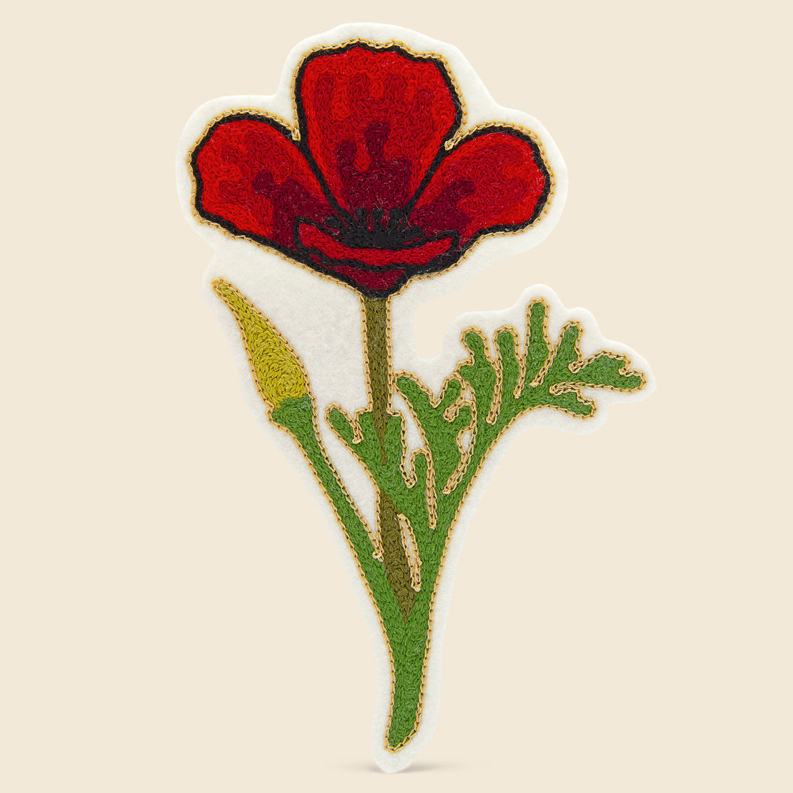Fort Lonesome Patch - Red Poppies