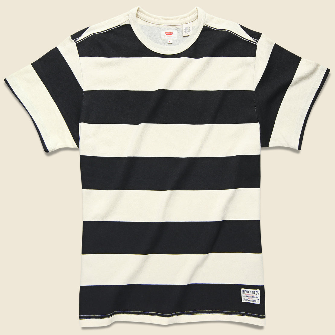 Levis Premium Mighty Made Tee - Rugby Caviar