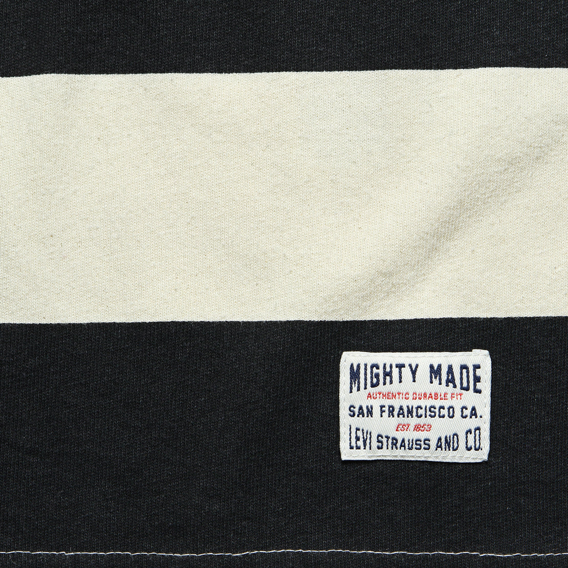Mighty Made Tee - Rugby Caviar