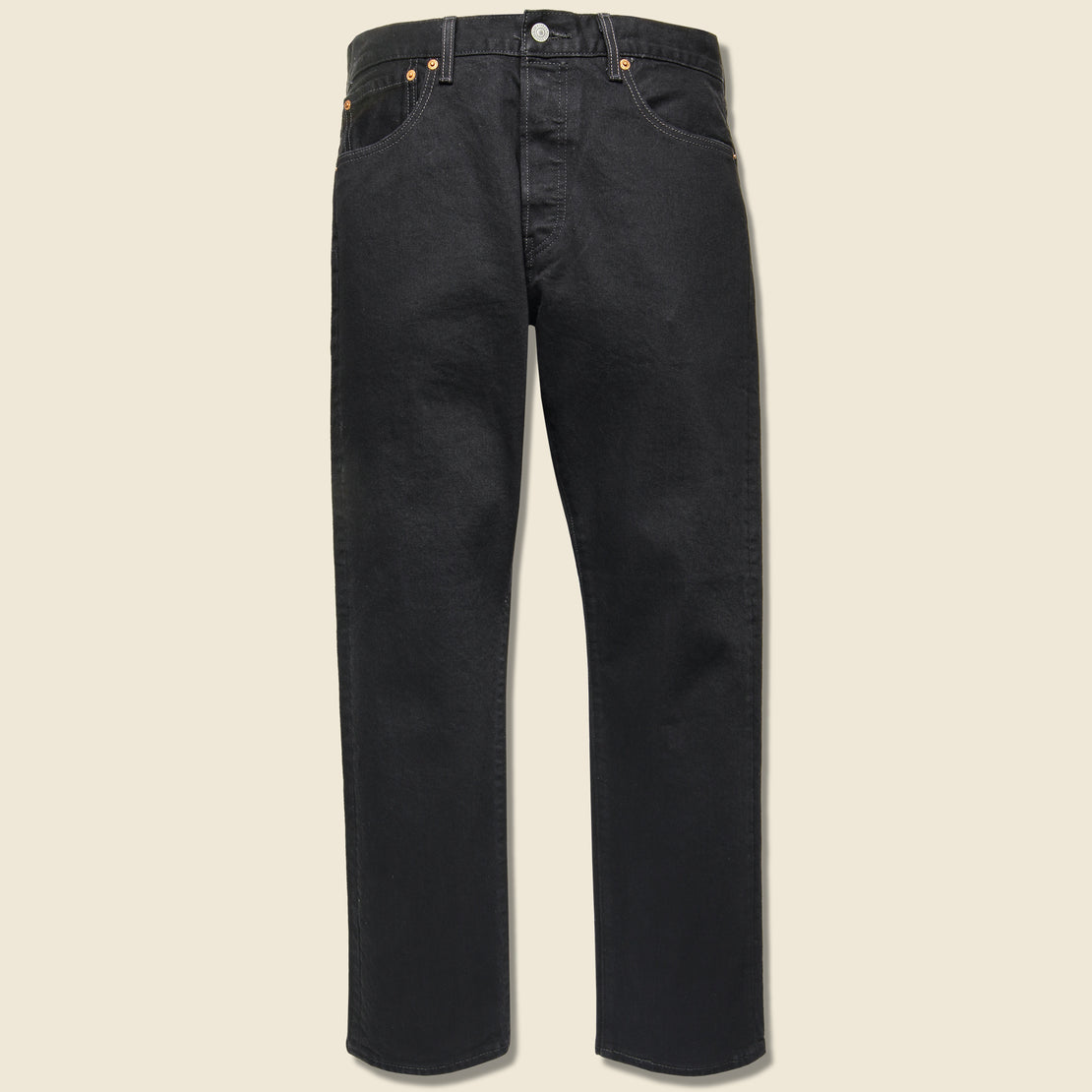 Levis Premium 501 '93 Straight Jean - Punk Black