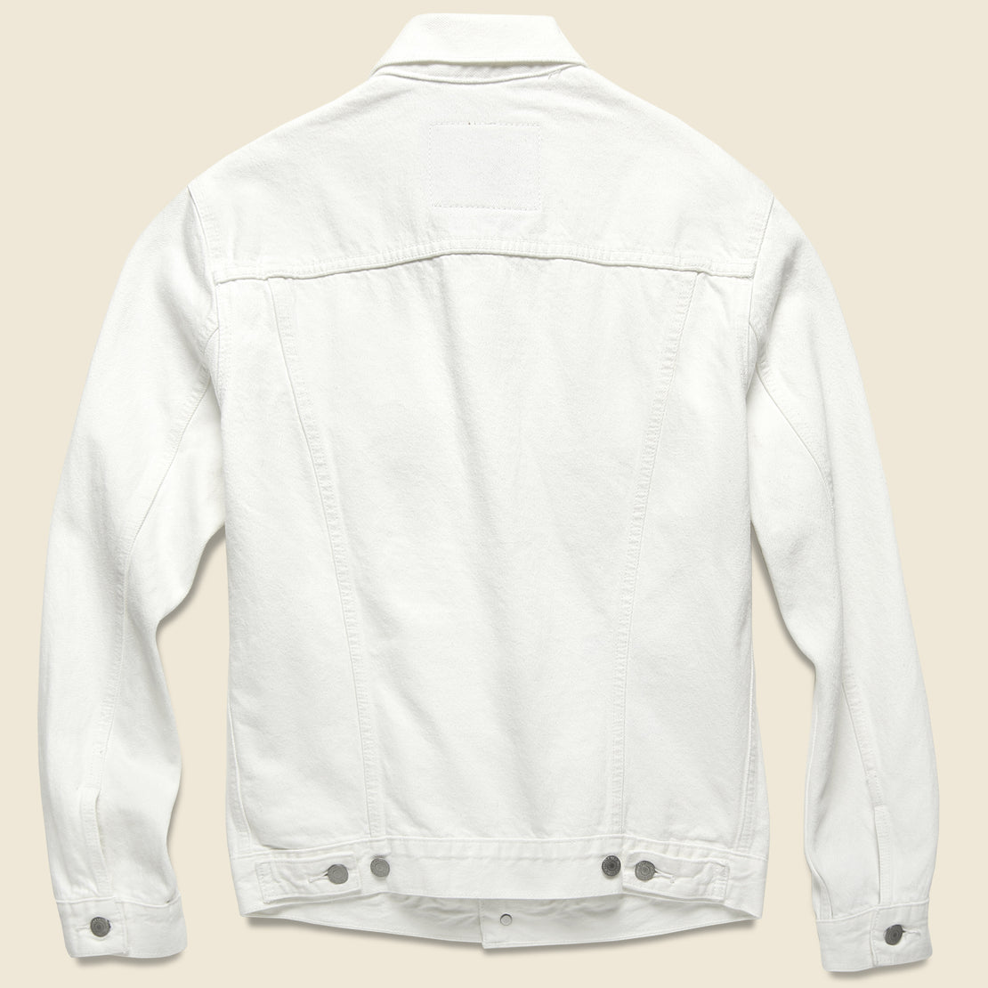 Trucker Jacket - White Out