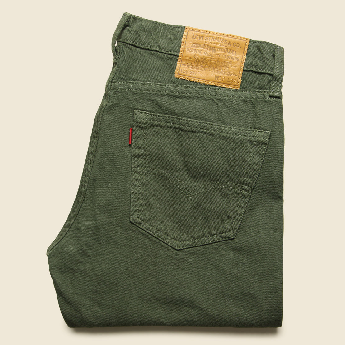 511 Color Jean - Olive Night