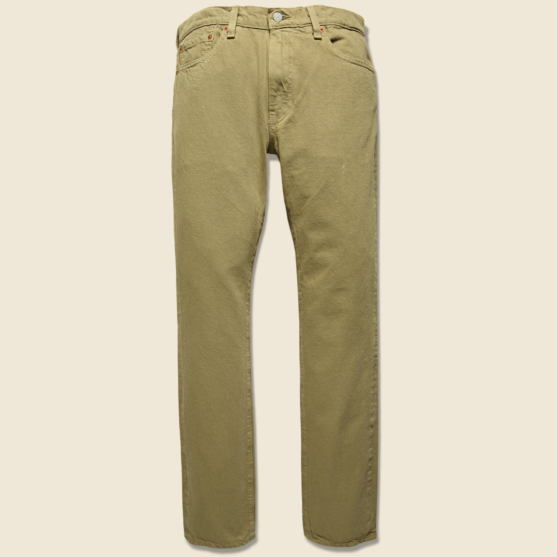 Levis Premium 511 Color Jean - Harvest Gold
