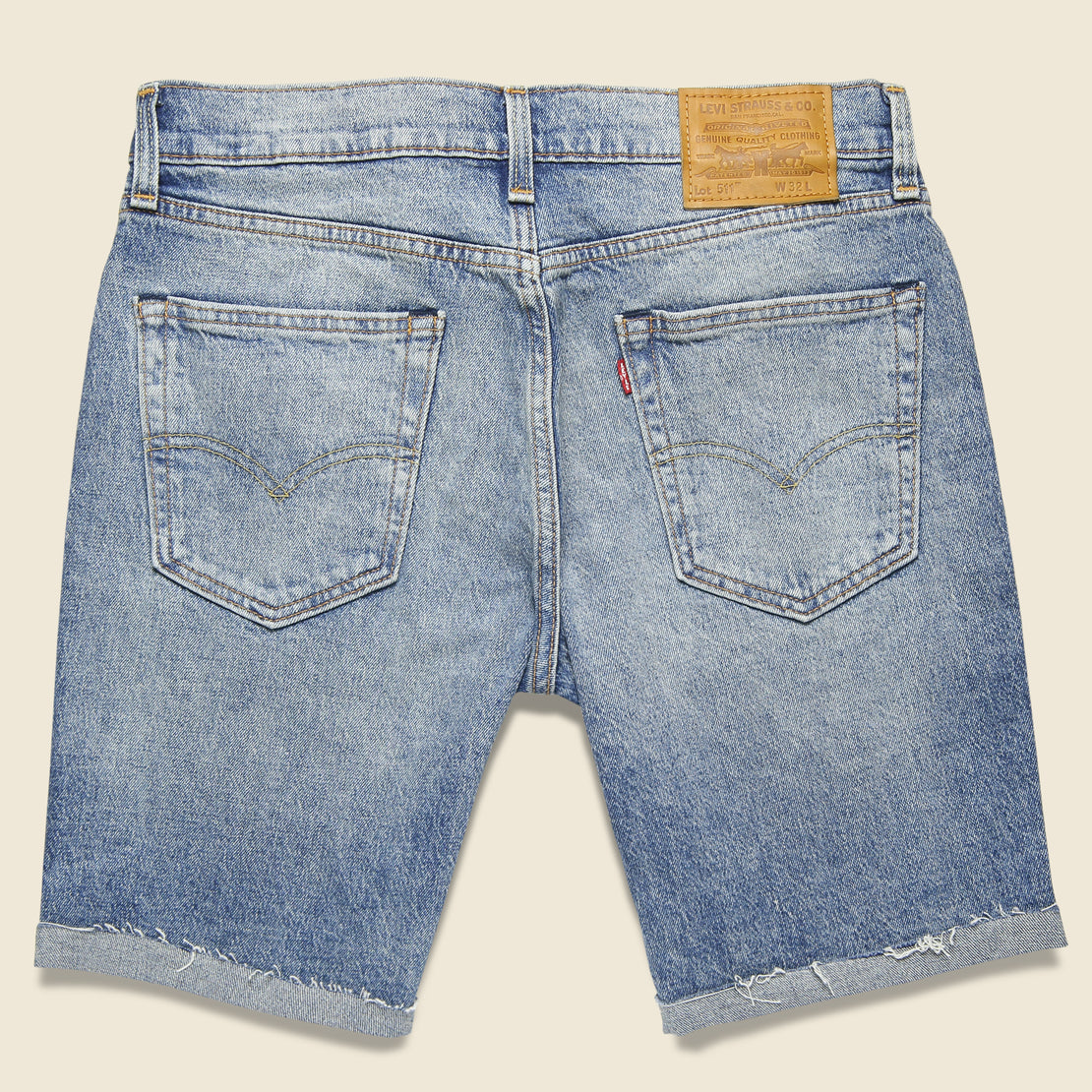 511 Cut-Off Short - Mo (Mid-Wash)