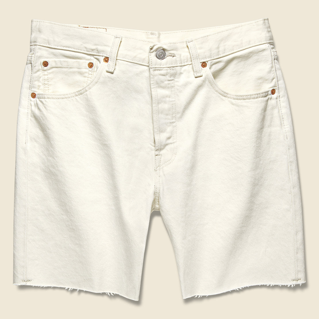 Levis Premium 501 '93 Cut Off Short - Mortadella