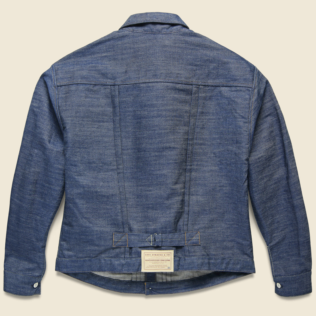 1880 Triple Pleat Blouse Jacket - Indigo